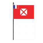 Wallis and Futuna Country Hand Flag - Small
